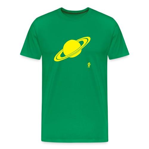 Watching Saturn - Men's Premium T-Shirt