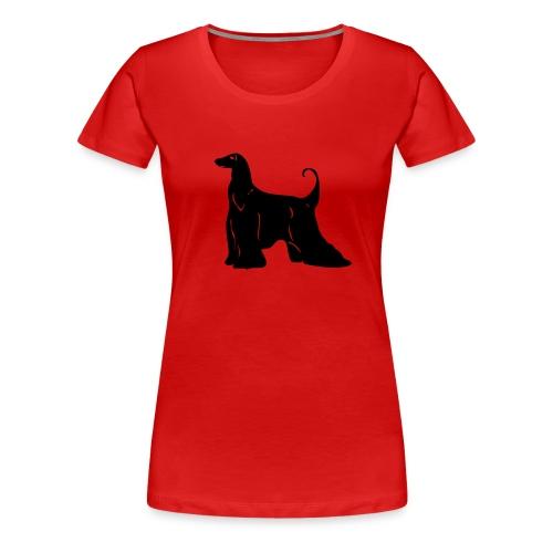 Naisten t-paita, Afgaani, edessä - Naisten premium t-paita