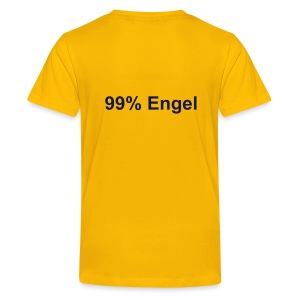 99% Engel gelb - Teenager Premium T-Shirt