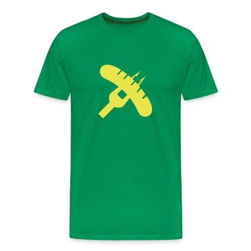 Grill-Revolution - Grillen - Männer Premium T-Shirt