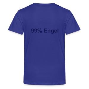 99% Engel blau - Teenager Premium T-Shirt