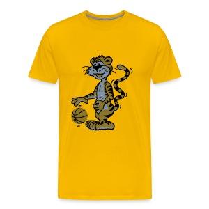 Shirt Basketballtiger - Männer Premium T-Shirt