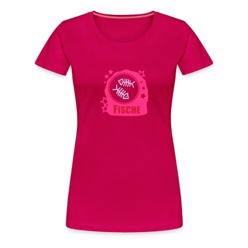 Shirt Sternzeichen Fische - Frauen Premium T-Shirt