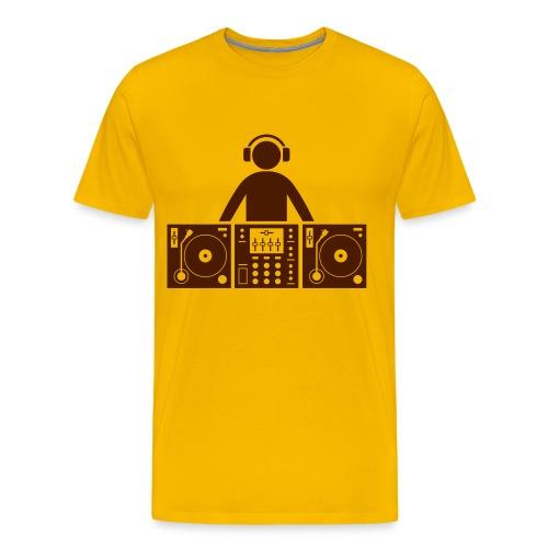 DJ T-Shirt 1 - Premium-T-shirt herr