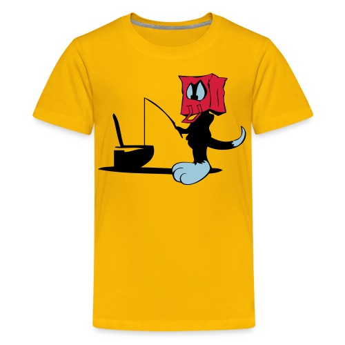 Fishing Bag - Teenager Premium T-shirt