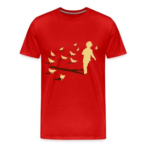 Bye Bye Birds - Mannen Premium T-shirt