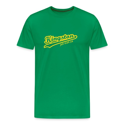 Kingston Tee (Green) Mens - Men's Premium T-Shirt