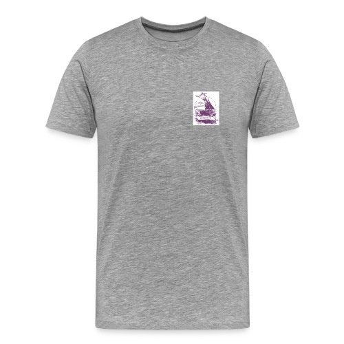 T-shirt Gabare de Bordeaux - T-shirt Premium Homme