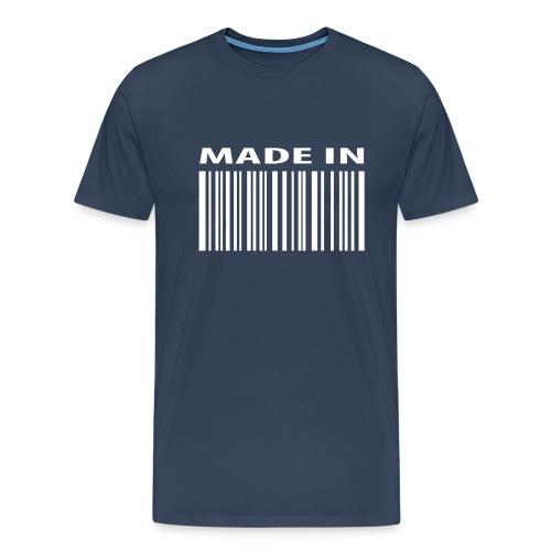 Game over t-shirt - Herre premium T-shirt