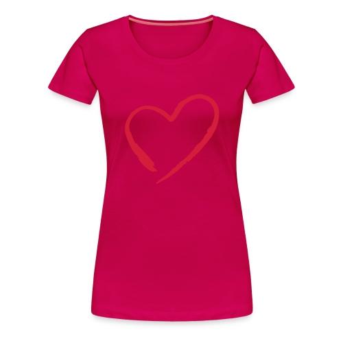 Heart - T-shirt Premium Femme