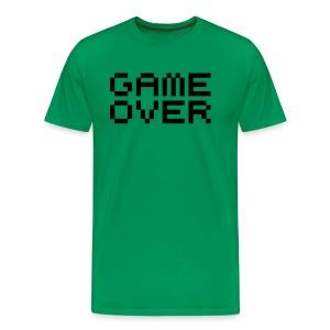 Game Over. - Mannen Premium T-shirt