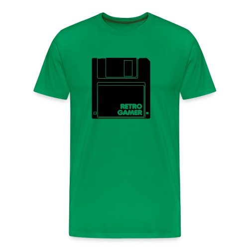 Retro Gamer T-Shirt - Men's Premium T-Shirt