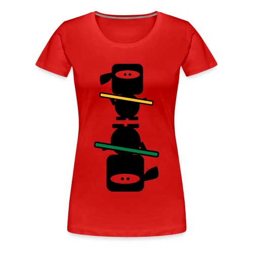 Ninja (F-I) - Maglietta Premium da donna