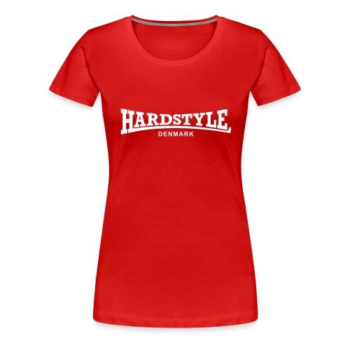 Hardstyle Denmark - White - Women's Premium T-Shirt