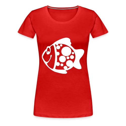 fisk - Dame premium T-shirt