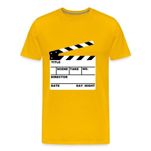 Klappe - Männer Premium T-Shirt