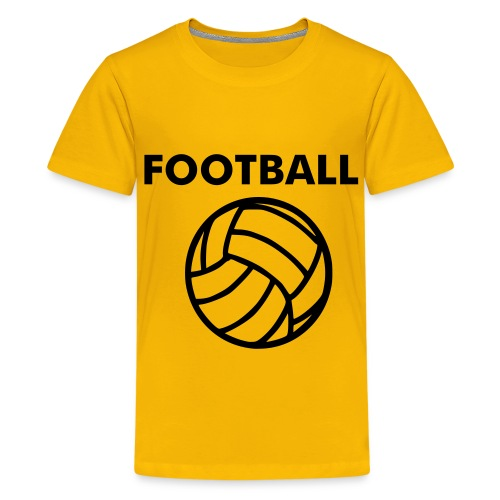 Football - Camiseta premium adolescente