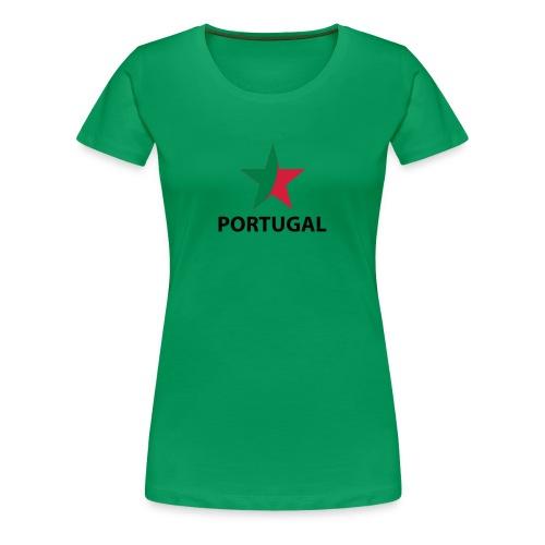 Portugal - Vrouwen Premium T-shirt