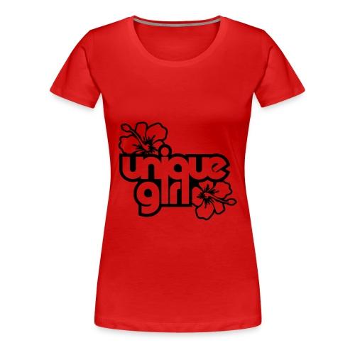Unique Girl - Women's Premium T-Shirt