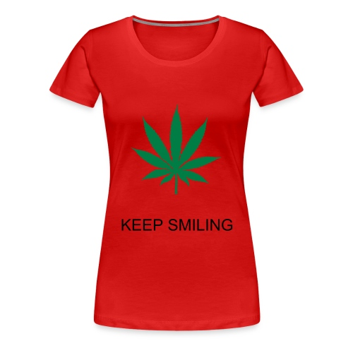 HAPPY CANNABIS - Vrouwen Premium T-shirt