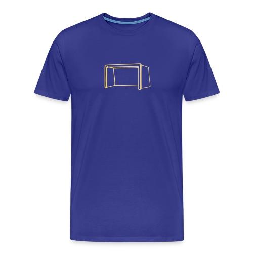 T-shirt rete blue/oro - Maglietta Premium da uomo