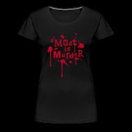 T-Shirts ~ Frauen Premium T-Shirt ~ Womens Shirt 'Meat is Murder'