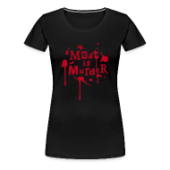 T-Shirts ~ Frauen Premium T-Shirt ~ Womens Shirt 'Meat is Murder'