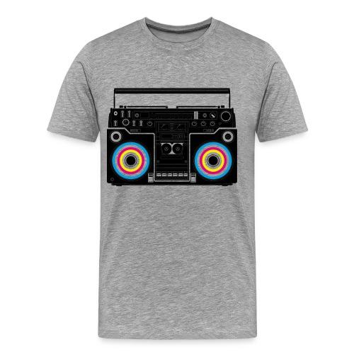 boombox men's t-shirt - Men's Premium T-Shirt