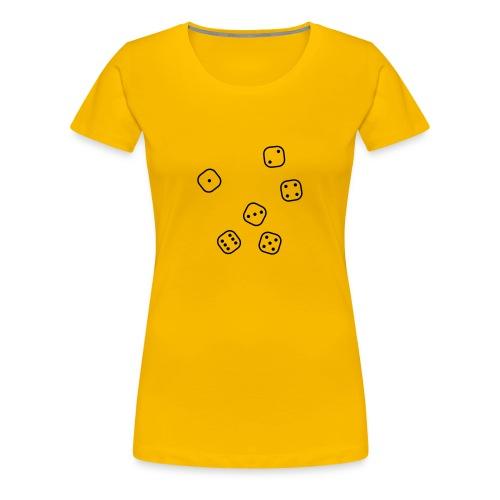 Rolling Dice - Frauen Premium T-Shirt