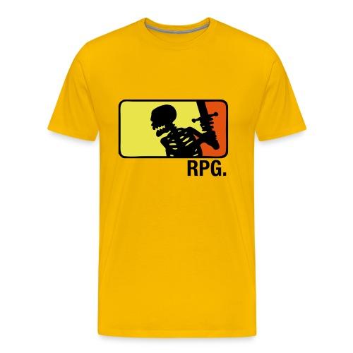 Yellow RPG T-shirt - Premium T-skjorte for menn