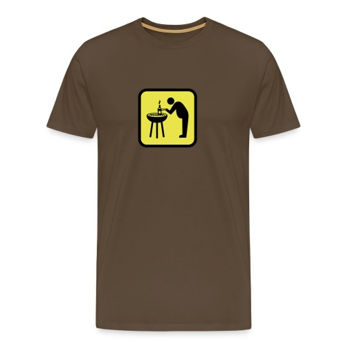 Biergrill - Männer Premium T-Shirt