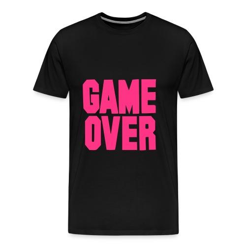 game over - Camiseta premium hombre