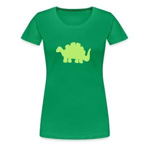 Dino-Shirt - Frauen Premium T-Shirt