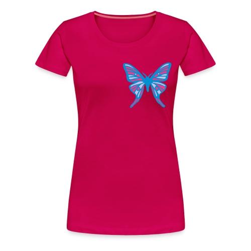 ladies butterfly t - Women's Premium T-Shirt