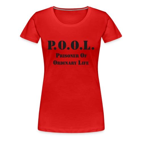 P.O.O.L. black sparkle Girlie - Frauen Premium T-Shirt