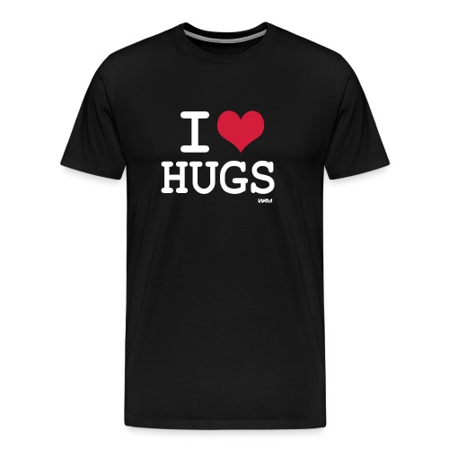t-shirt homme i love hugs - T-shirt Premium Homme