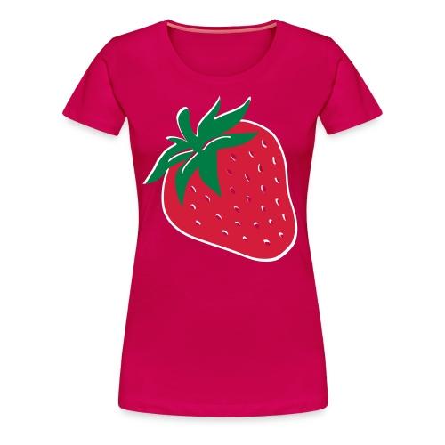 Strawberry - Premium T-skjorte for kvinner