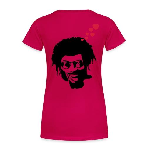 angelina jolie - T-shirt Premium Femme