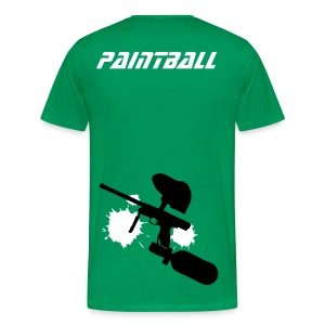 04 paintball - T-shirt Premium Homme