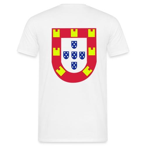 Blason portugais - T-shirt Homme