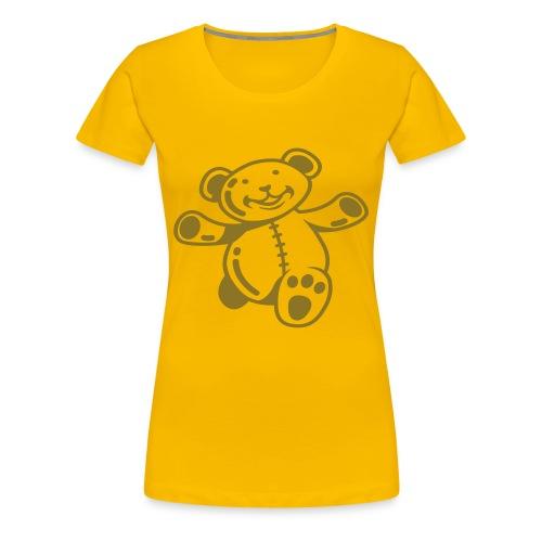 Teddy bear t-shirt - Women's Premium T-Shirt