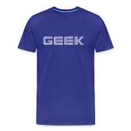Tee shirts ~ T-shirt Premium Homme ~ Geek