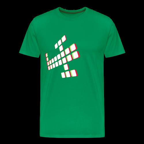 3Dplane - Men's Premium T-Shirt