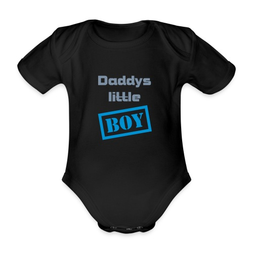 DADDYS LITTLE BOY - Vauvan body - Vauvan lyhythihainen luomu-body