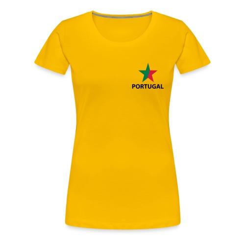 Portugal - T-shirt Premium Femme
