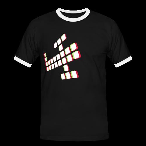 3Dplane - Men's Ringer Shirt