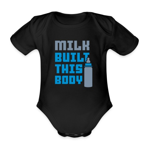 MILK BUILT BOYS - Vauvan body - Vauvan lyhythihainen luomu-body