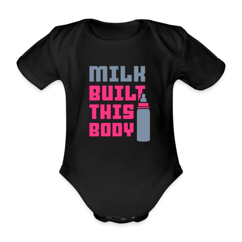 MILK BUILT GIRLS - Vauvan body - Vauvan lyhythihainen luomu-body