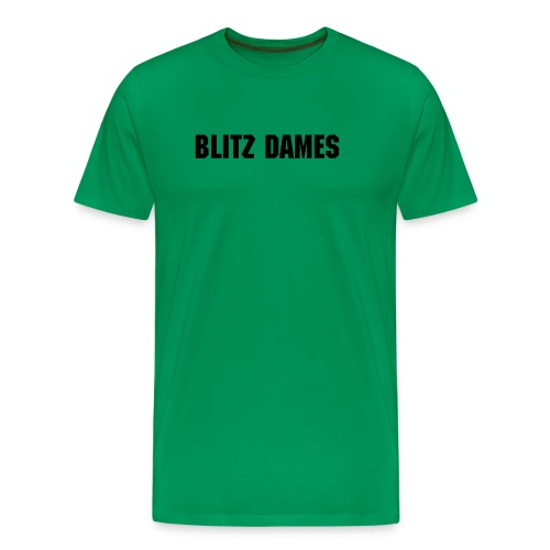 Blitz Dames Text Tshirt - Men's Premium T-Shirt