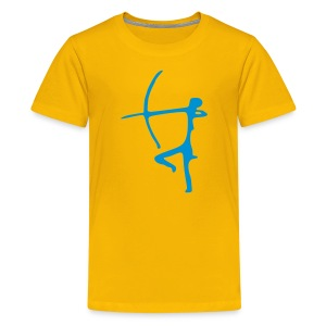 Archer Kid's Shirt - Teenage Premium T-Shirt